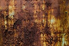 Les belles textures de plan rapproch? soustraient le vieux m?tal rouill? et le fond en acier image libre de droits