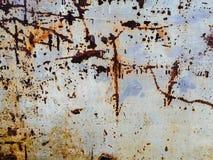 Les belles textures de plan rapproch? soustraient le vieux m?tal rouill? et le fond en acier photographie stock libre de droits