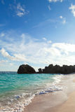 Les Bermudes Warwick Long Bay Beach Images stock