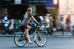 Les Bicyclettes #1, Париж 2010 Стоковое Изображение