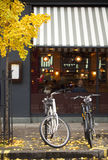 Les bicyclettes sont la plus défunte chose à Londres Photos stock
