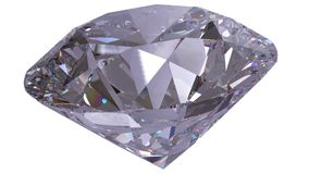 Les bijoux 3d de diamant rendent Images libres de droits