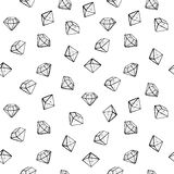 Les bijoux façonnent le modèle sans couture Illustration Stock