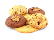 les biscuits autoguident effectué Images stock