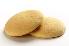 Les biscuits d'éponge Images libres de droits