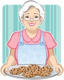 Les biscuits de la grand-maman Image libre de droits
