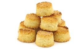 Les biscuits hollandais traditionnels appelés Weesper moppen images stock