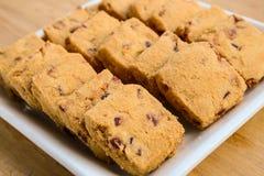 Biscuits de fruit image stock