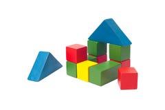Les blocs constitutifs des enfants Image stock