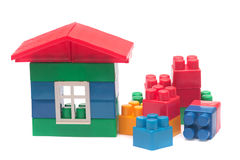 Les blocs de l'enfant. photographie stock