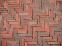 Les blocs en pierre de Nthe sont rouges et gris images stock