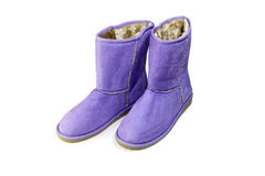 Les bottes d'hiver Photos libres de droits