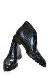 Les bottes de l'homme Photo stock