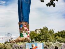Les bottes et les jeans de grand Tex Images libres de droits