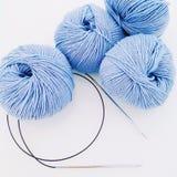 Les boules de la laine image libre de droits