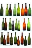 les bouteilles vident Photos libres de droits