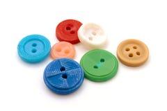 les boutons ont coloré Photographie stock libre de droits