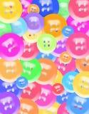 Les boutons se boutonne partout Images libres de droits