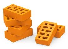 Les briques illustration de vecteur