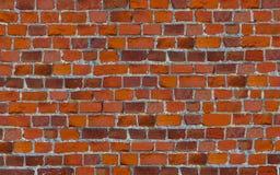 Les briques avec le fond rouge de rayures inégales de ciment wallpaper Image stock