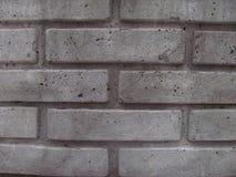 Les briques grises se ferment, grunge, texture Photo stock