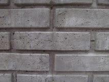 Les briques grises se ferment, grunge, texture Image stock