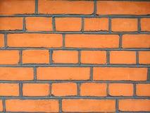 Les briques oranges images stock