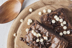 Les 'brownie' se ferment  Photographie stock