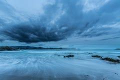 Les côtes et les plages de la Galicie et des Asturies Photographie stock libre de droits