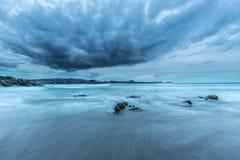 Les côtes et les plages de la Galicie et des Asturies Image libre de droits