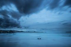 Les côtes et les plages de la Galicie et des Asturies Photographie stock