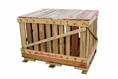 Les caisses en bois Image stock