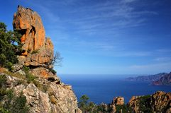Les Calanches de Piana III Royalty Free Stock Photography