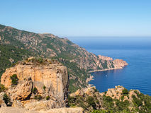 Les Calanque de Piana Royalty Free Stock Image