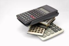 Les calculatrices Photos libres de droits