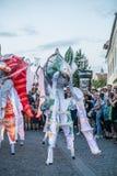 Les caméléons dansent l'équipage d'Allemagne image libre de droits