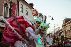 Les caméléons dansent l'équipage d'Allemagne photographie stock