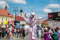 Les caméléons dansent l'équipage d'Allemagne photo stock