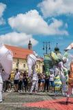 Les caméléons dansent l'équipage d'Allemagne images stock