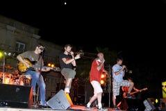 Les Cameleons di concerto Immagine Stock Libera da Diritti