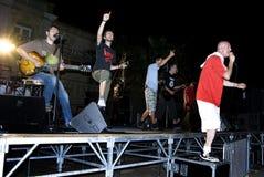 Les Cameleons di concerto Immagini Stock Libere da Diritti