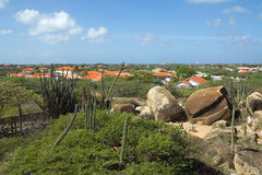 les Caraïbe L'île d'Aruba Parc national Arikok Images stock
