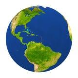 Les Caraïbe ont accentué sur terre illustration stock