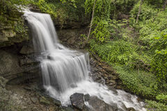 Les cascades de Milton occidental, Ohio Photos libres de droits