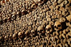 Les Catacombes Stock Image