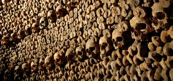 Les Catacombes Royalty Free Stock Images