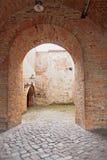 Les catacombes dans la citadelle Spandau l'allemagne Images libres de droits