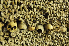 Les Catacombes, Paris Royalty Free Stock Photography