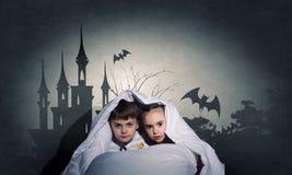 Les cauchemars des enfants Photographie stock libre de droits
