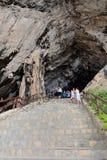 Les cavernes d'Arta en Majorque Images libres de droits
